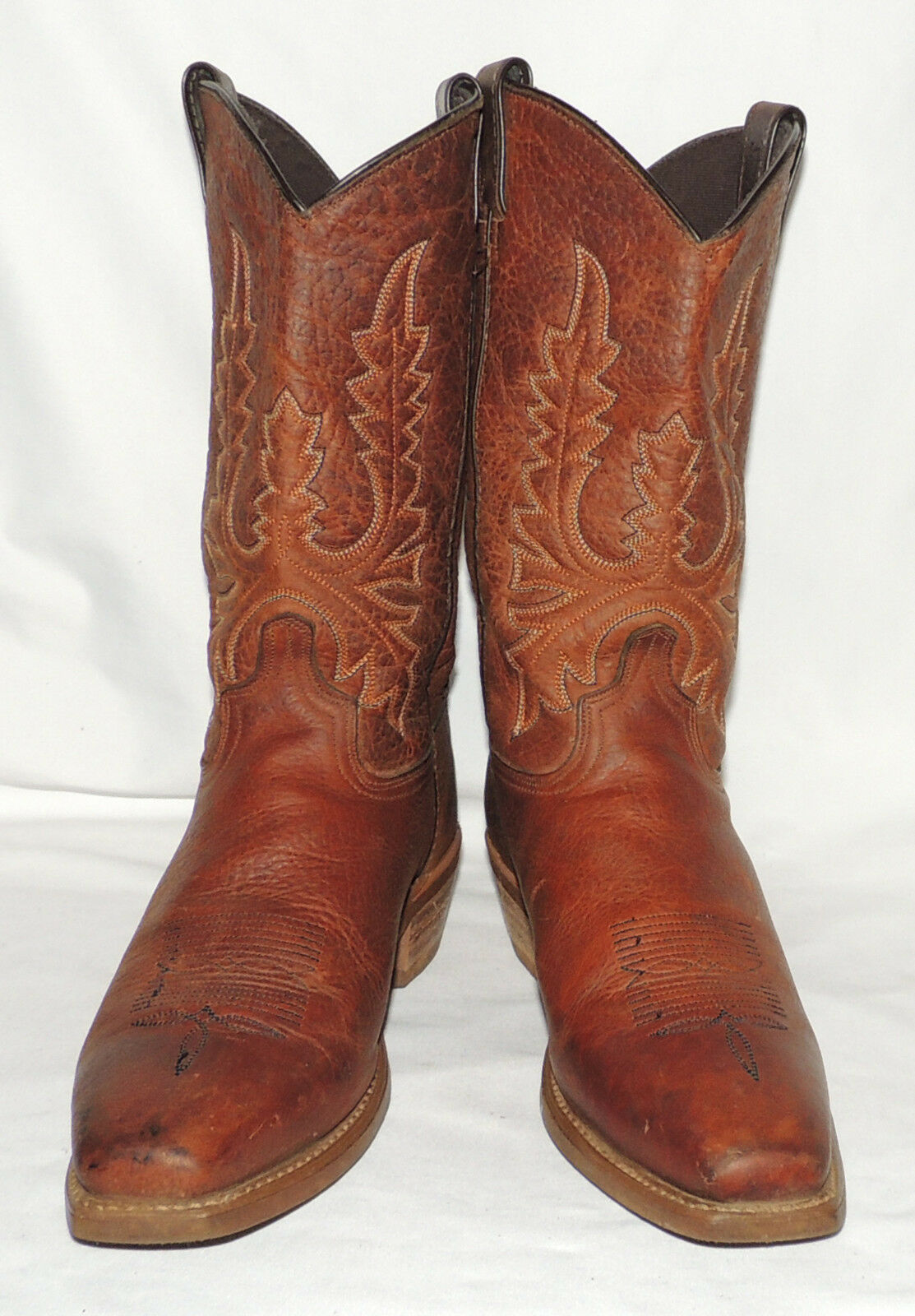 WOMEN'S ABILENE 'OILED BROWN' 9 WESTERN BOOTS SIZE 9 BROWN' M a01c52