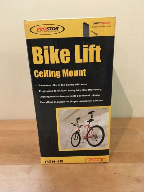 Racor Prostor Bike Lift Ceiling Mount Bicycle Storage Rack
