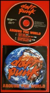 Details about Daft Punk: Around The World Single Used CDs