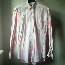 Great quality Ralph Lauren Purple Label Made in Italy Pink button down shirt S