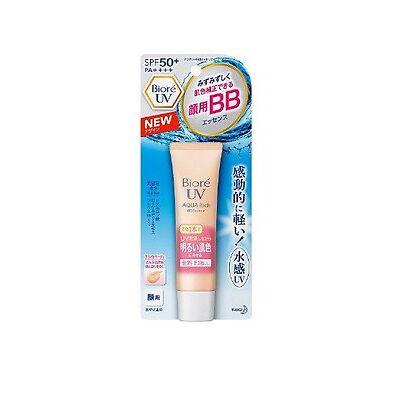 Made in JAPAN KAO Biore UV Aqua Rich Watery BB Cream for Face SPF50+ PA++++ 33g