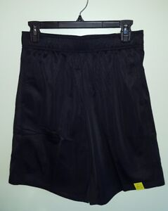 "NWT Tek Gear Men's SMALL Training Shorts BLACK Above the Knee POLY 9"" Inseam #32"