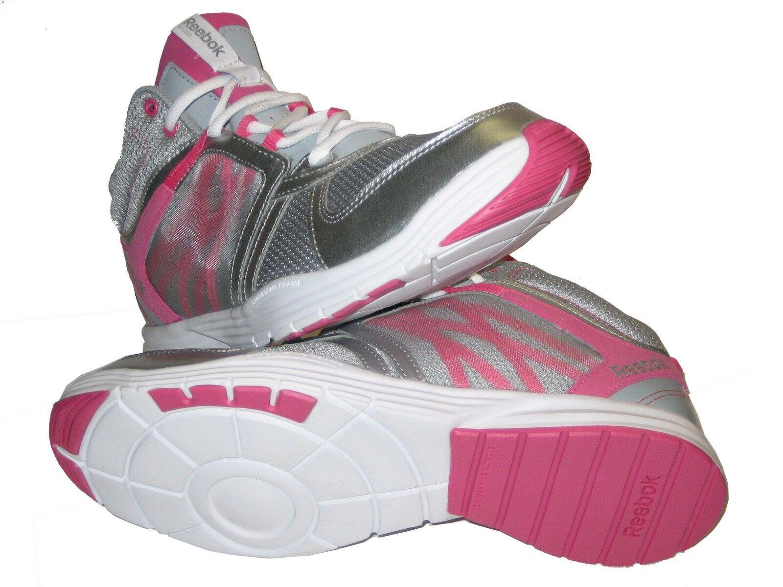 Reebok Sublite Studio Flame M42411 Grey Silver Pink White Fitness Schuh Women