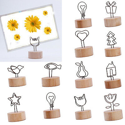 Place Card Holders Wedding Restaurants Cafes Table Number Name Clip Decoration