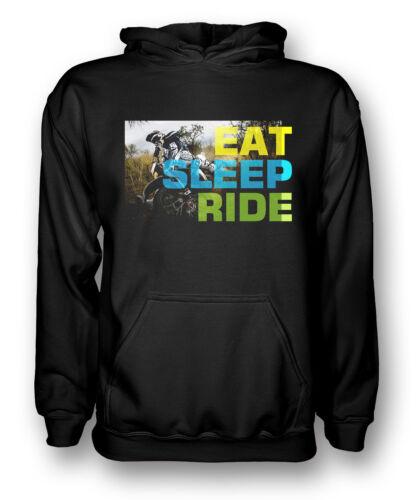 Offroad Motocross Eat Sleep Ride Kids Hoodie