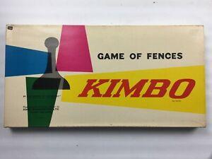Vintage-Kimbo-Juego-de-vallas-juego-de-mesa-Waddingtons-100-Completo