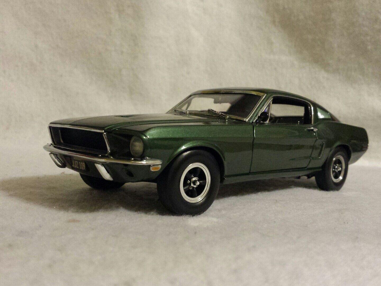 Franklin/Danbury Nuovo di zecca Steve mcqueens Bullitt Ford Mustang GT 1968 SCALA 1:24
