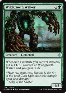 4x-Wildgrowth-Walker-NM-Mint-English-Ixalan-MTG-Magic