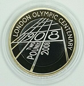 Royal Mint - 2008 London Centenary 1908 Olympics Proof £2 Coin - Two Pound