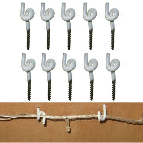 10 pcs Vent Preuve et Rouille Preuve Crochets Pour Outdoor Wire /& /& Wind Chimes