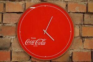 Vintage-reloj-de-pared-70er-mid-CENTURY-Design-70s-reloj-coca-cola-retro-Fanta-publicitarias