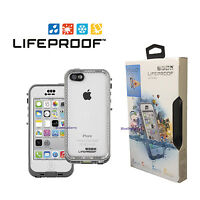Lifeproof Nuud Waterproof Case For Apple Iphone 5c Glacier, White