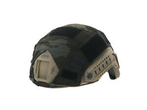 Airsoft  Tactical Fast PJ Helmet Cover  MultiCam Black Emerson Gear