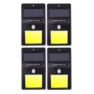 4-LAMPADE-LUCE-FARETTO-FARO-ESTERNO-ENERGIA-SOLARE-48-LED-SENSORE-MOVIMENTO
