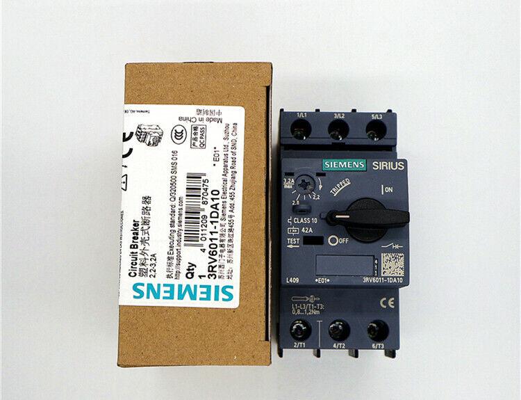 1 PC Siemens 3RV2011-1CA10 Circuit Breaker In Box New #SIE