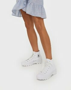 Star Hi Chunky Sole Boots Trainers Size