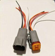 4 Pin Deutsch Connector 18ga Pigtails Automotive Waterproof Electrical