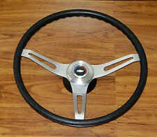 Comfort Grip Steering Wheel Kit Black Cushion 3spoke 67 8 Camaro Chevelle Impala