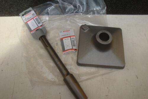 BOSCH SDS MAX 120MM TAMPER PLATE 1 618 609 003 TAPER ADAPTOR 1 618 633 101