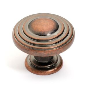 Charmant Image Is Loading Antique Copper Cabinet Hardware Knobs K 3118 AC
