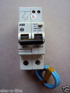 W357 NSBS50//1 WYLEX 50A RCBO C TYPE 30MA 6KA