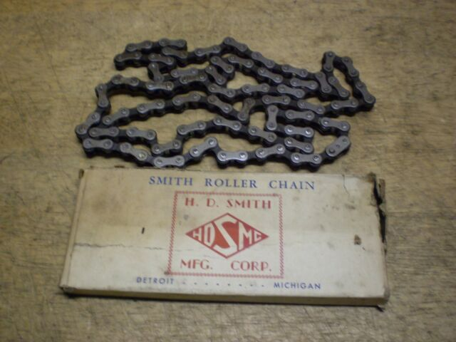 "SALE! Prewar NOS Smith Roller 26"" Bicycle Chain Schwinn Shelby Elgin Colson &"