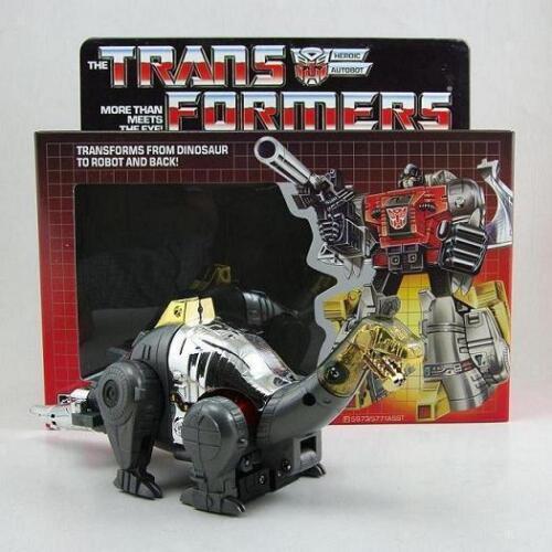 Transformers G1 Re-Issue Autobot Dinobot FANGO Action Figure Set COME NUOVO IN SCATOLA SIGILLATA Nuovo di Zecca