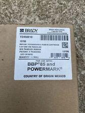 Brady Black Green Ribbon Cartrige 13705 Y2450010 Bbp 85 Powermark
