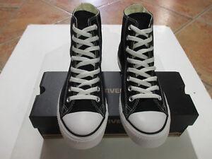 Converse-Chucks-All-Star-HI-Groesse-45-schwarz-black-M9160C-NEU-Sneaker