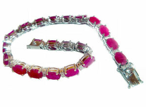 18-65ct-Ruby-amp-Diamond-Bracelet-in-14K-White-Gold