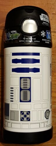 Thermos Funtainer 12 oz Bottle STARS WAR 12 Hours cold NEW