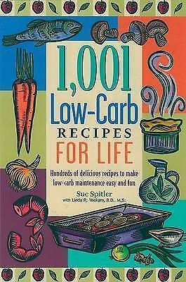 1,001 Low-Carb Recipes for Life-ExLibrary