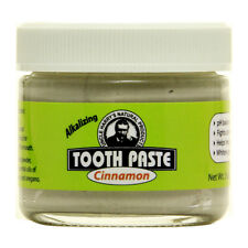 Uncle Harry's Natural & Fluoride Free Toothpaste - Cinnamon (3 oz glass jar)