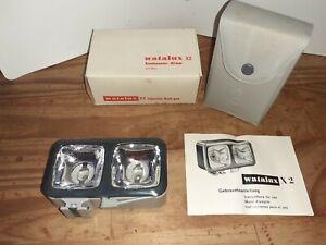 Flash WaTalux pour ancien appareil photo -  Avec Étui
