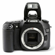 Canon Eos 20d 82mp Digital Slr Camera Black Body Only Ebay
