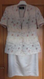 EQUATEUR elegante cipria Tailleur abito Made 44 in e donna giacca fnvwS7q