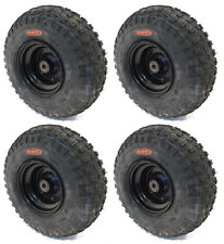 (4) KNOBBY TIRES 145X70-6 145/70-6 ATV Go Cart Kart Mini Bike 50 90 110cc Engine