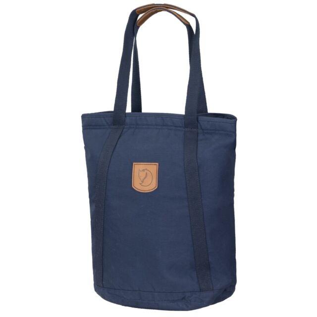 Fjällräven Totepack No.4 Tall Shopper Leder Damentasche Handtasche Henkeltasche