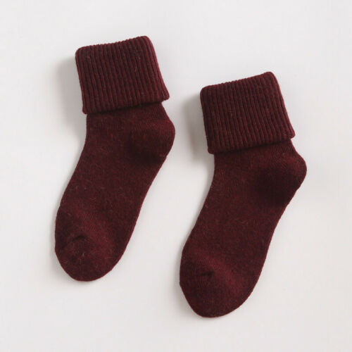 Lady Womens Soft Thermal Sock Socks Wool Gifts Winter Xmas 90/% Casual Cashmere