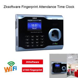Details about Zksoftware U160 Biometric WIFI Fingerprint Time Attendance  Fingerprint Scanner