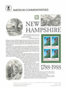 311-22c-New-Hampshire-Statehood-2344-USPS-Commemorative-Stamp-Panel