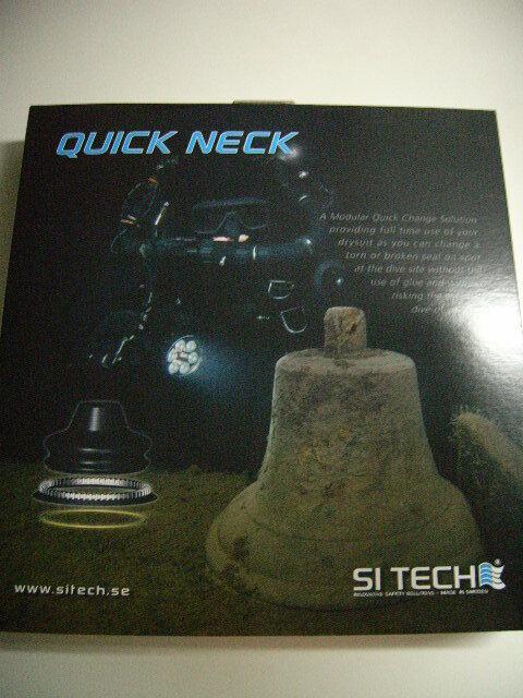 SiTech Quick Neck-Set 60190 mit Silikon Halsmanschette