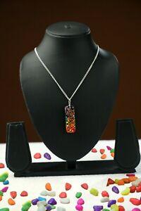 Rainbow-Crystal-Pendant-Chakra-Activation-EMF-protection-USA-seller-Select-Qty