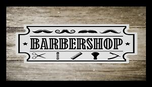 Barber-Shop-Bar-Runner-Counter-Mat-Barbers-Salon-Hairdressing-Rustic-1025