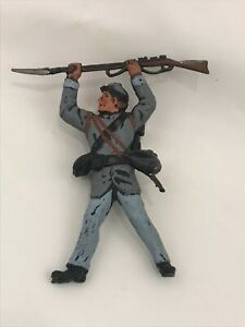 LANDI-Soldatini-Confederato-Sudista-Nordista-xiloplasto-1-32-toy-soldier-POSA-3