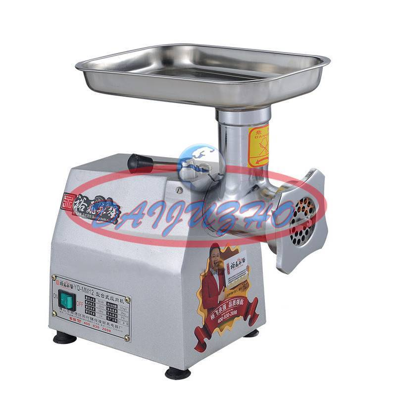 YQ-22A Commercial stainless steel 220kg h 220v Watt Electric Meat Grinder 1.1kw