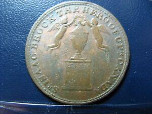 UC-6A1-Halfpenny-1816-Isaac-Brock-token-Upper-Canada-Breton-724