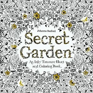 Secret Garden Colouring Book | eBay