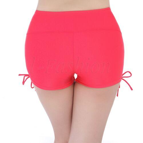 Women Swim Short Lace Yoga Summer Bikini Bottom Swimsuit Beach Board Shorts Plus