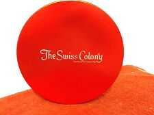 """VINTAGE  """" THE SWISS COLONY BUTTER TOFFEE """"CANDY TIN....MONROE, WISCONSIN..."""